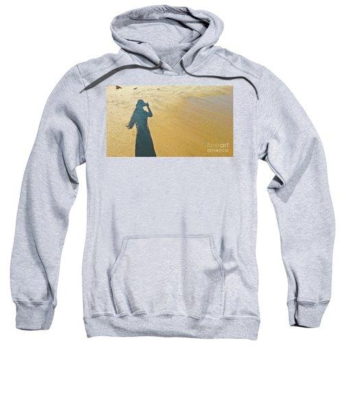 Shadow And Sand Raw Sweatshirt