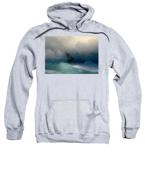 Ship On Stormy Seas Sweatshirt