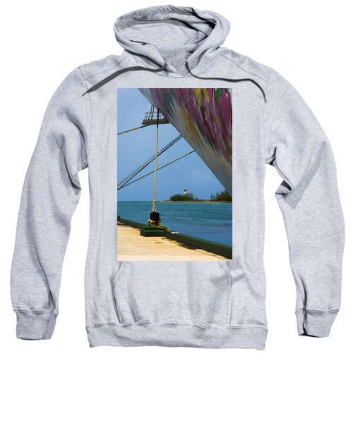 Ship's Ropes And Lighthouse Sweatshirt