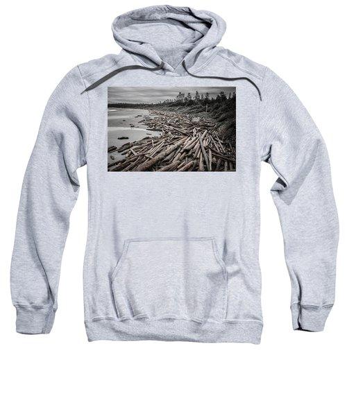 Shoved Ashore Driftwood  Sweatshirt