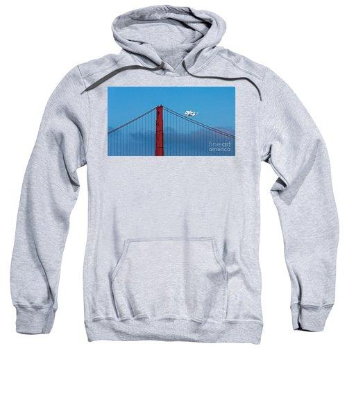 Shuttle Endeavour At The Golden Gate Sweatshirt