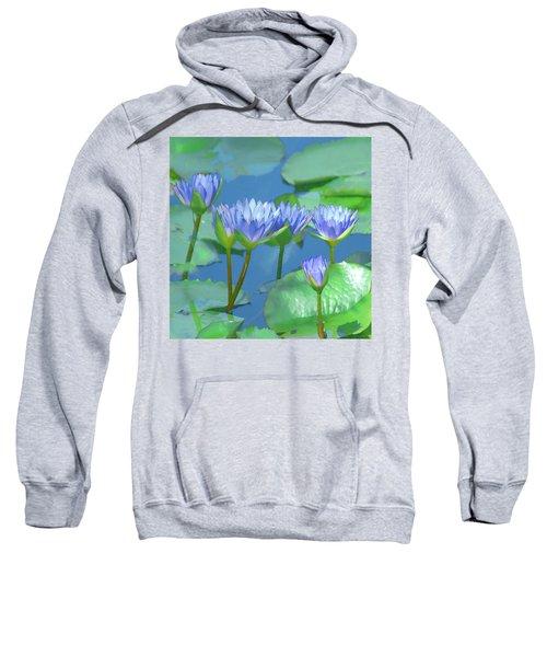 Silken Lilies Sweatshirt