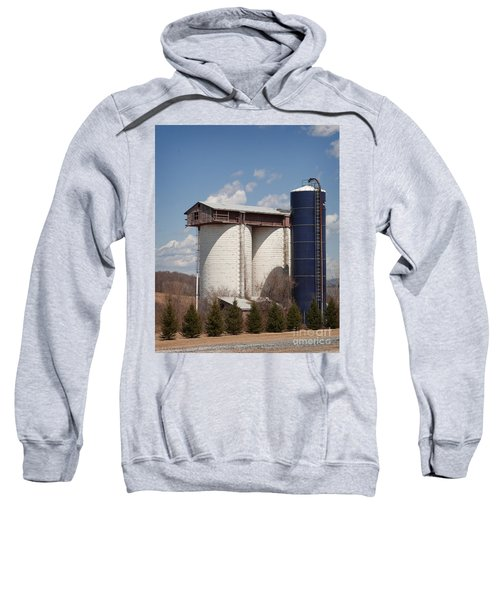 Silo House With A View - Color Sweatshirt