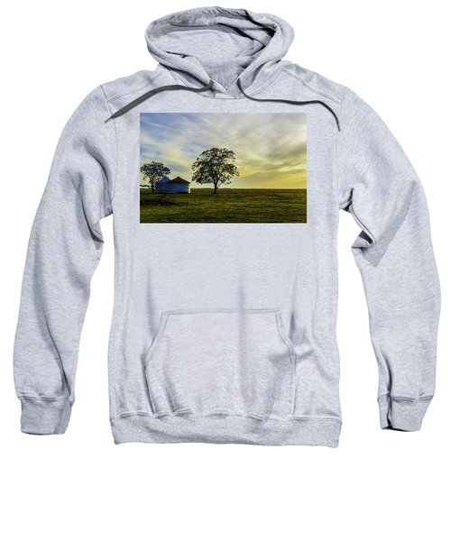 Silos At Sunset Sweatshirt