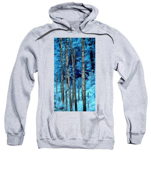 Silver Trees Sweatshirt