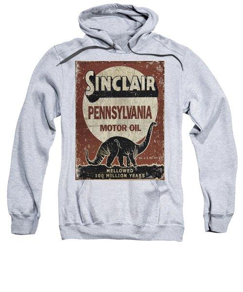 Sinclair Motor Oil Can Sweatshirt