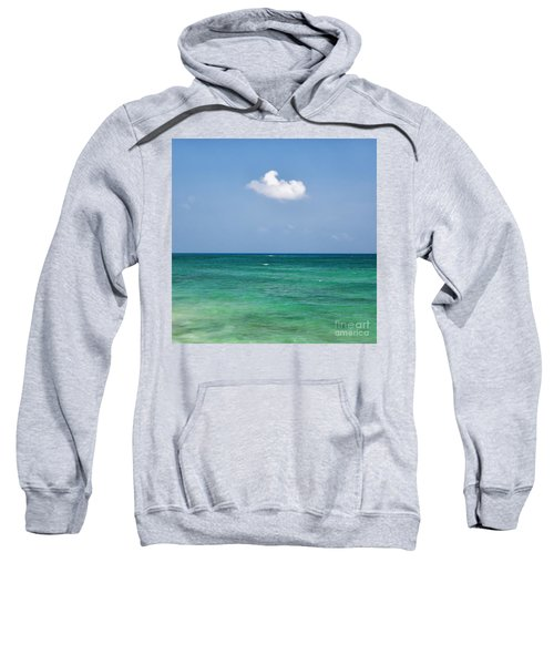 Single Cloud Over The Caribbean Sweatshirt