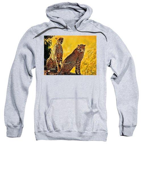 Sister Cheetahs Sweatshirt