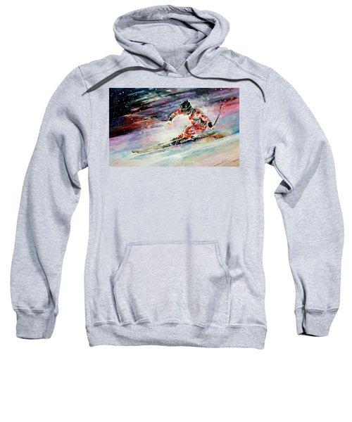 Skiing 01 Sweatshirt