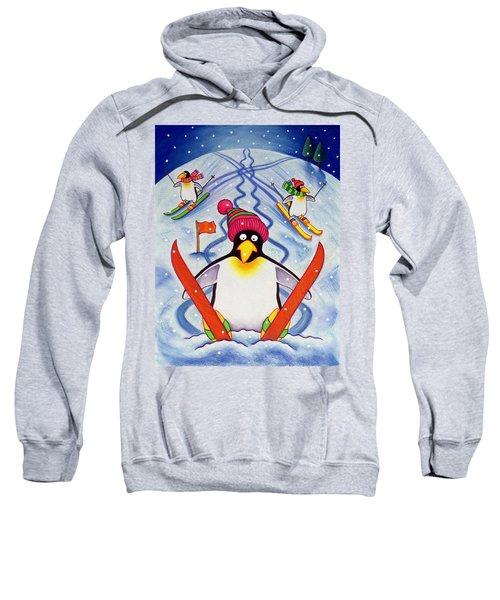 Skiing Holiday Sweatshirt