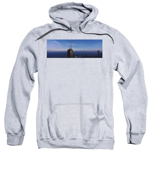 Skyscrapers In A City, Hancock Sweatshirt