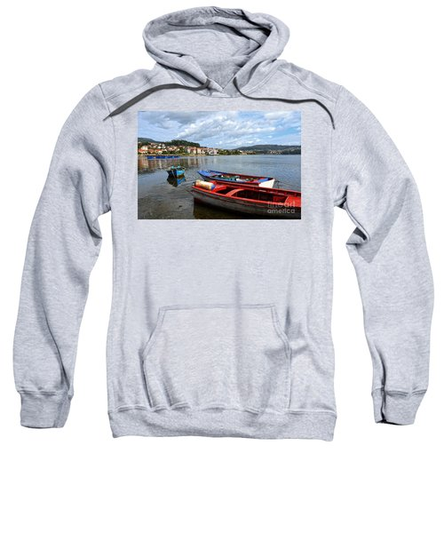Small Boats In Galicia Sweatshirt