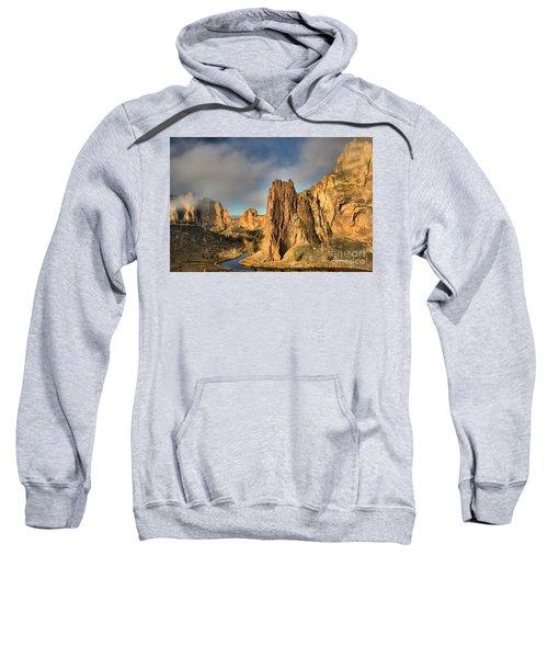 Smith Rock Foggy Morning Sweatshirt