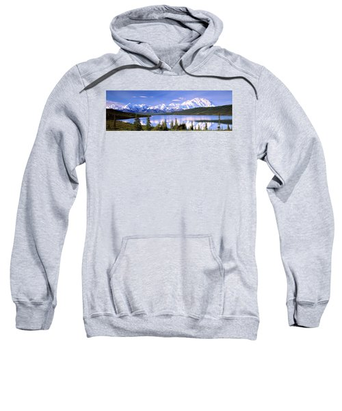 Snow Covered Mountains, Mountain Range Sweatshirt
