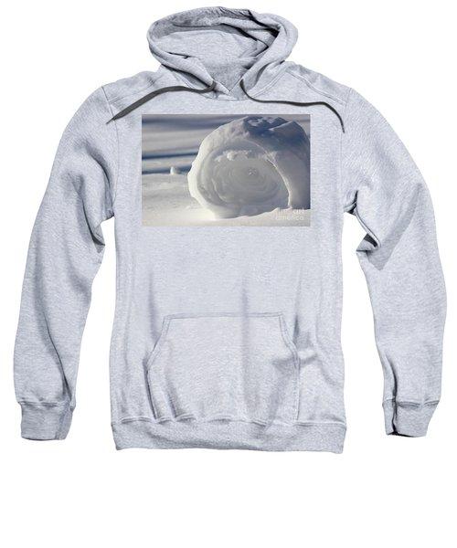 Snow Roller In Late Afternoon Sweatshirt