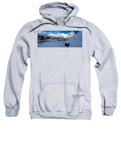 Snowcapped Mountain, Annapurna Base Sweatshirt