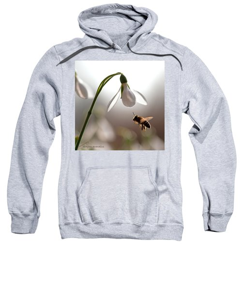 Snowdrops And The Bee Sweatshirt