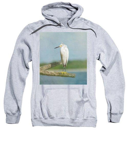 Snowy Egret Sweatshirt