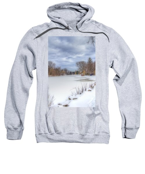 Snowy Lake Sweatshirt