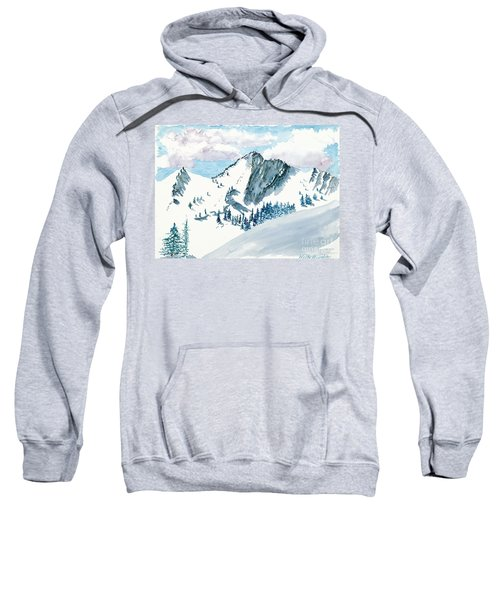 Snowy Wasatch Peak Sweatshirt