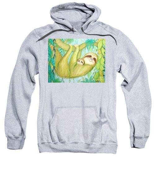 Soggy Mossy Sloth Sweatshirt