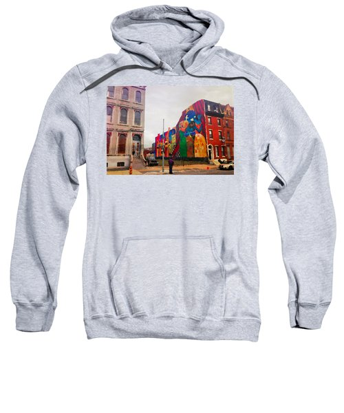 Some Color In Philly Sweatshirt