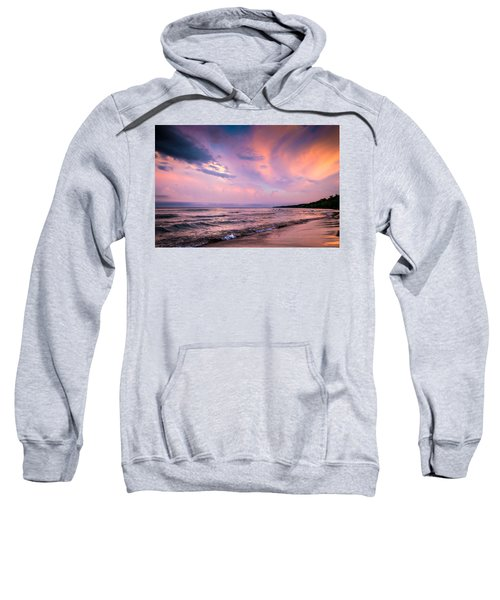 South Beach Clouds Sweatshirt