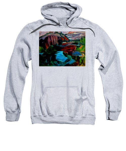 Southwest Scene After Gauguin Sweatshirt