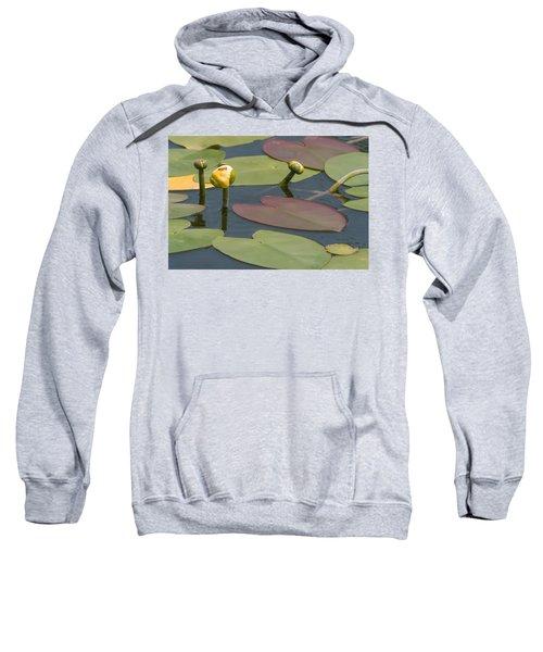 Spatterdock Heart Sweatshirt