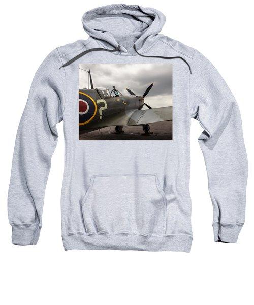 Spitfire On Display Sweatshirt