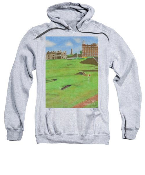 Sweatshirt featuring the painting St. Andrews by Denise Railey
