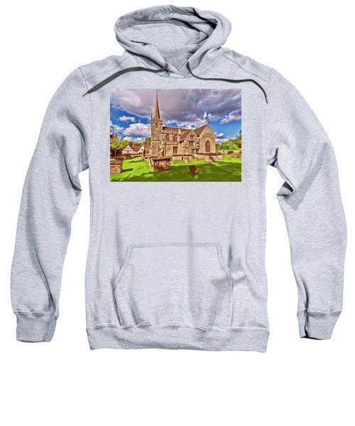 St Cyriac Church Lacock Sweatshirt