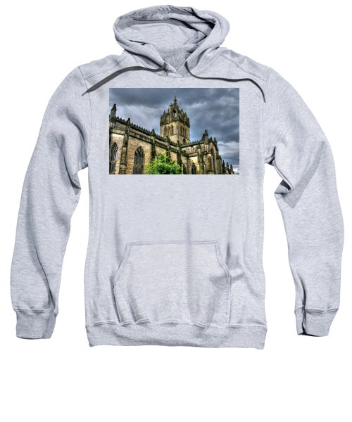 St Giles And Tree Sweatshirt