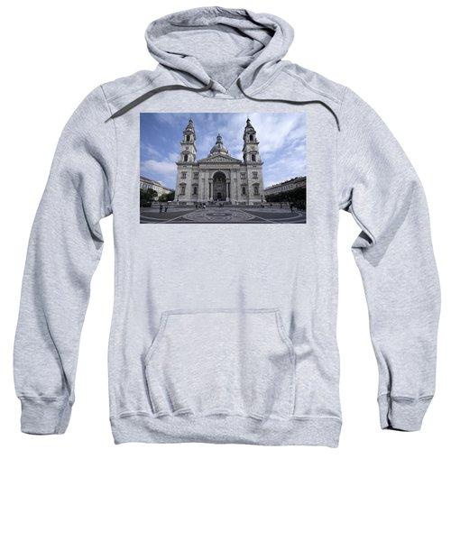 St Stephens Basilica Budapest Sweatshirt