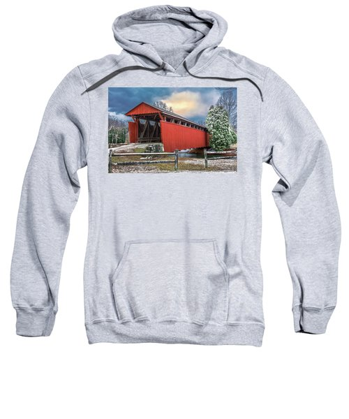 Staats Mill Covered Bridge Sweatshirt