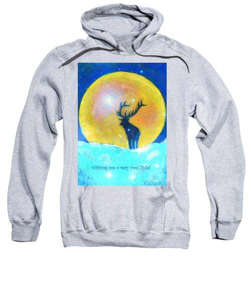 Stag Of Winter Sweatshirt