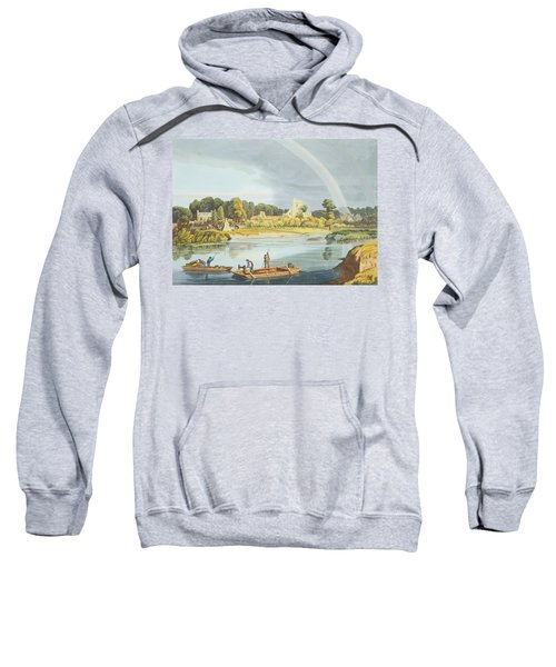 Staines Church With City Stone On Banks Sweatshirt