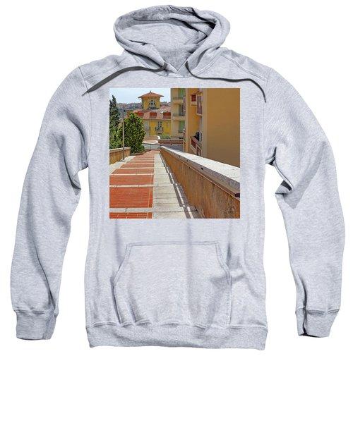 Stairway In Monaco French Riviera Sweatshirt