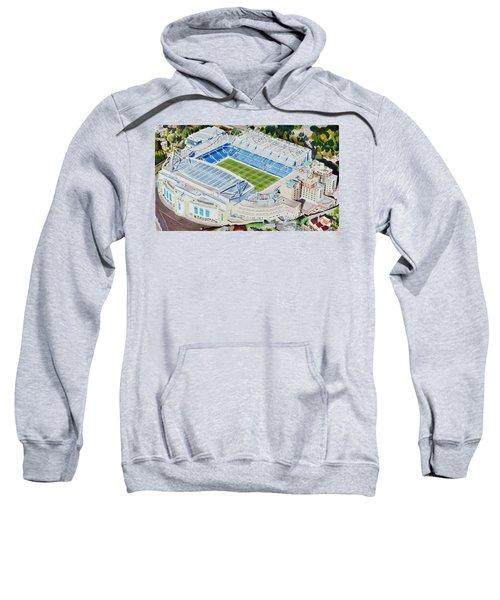 Stamford Bridge Stadia Art - Chelsea Fc Sweatshirt