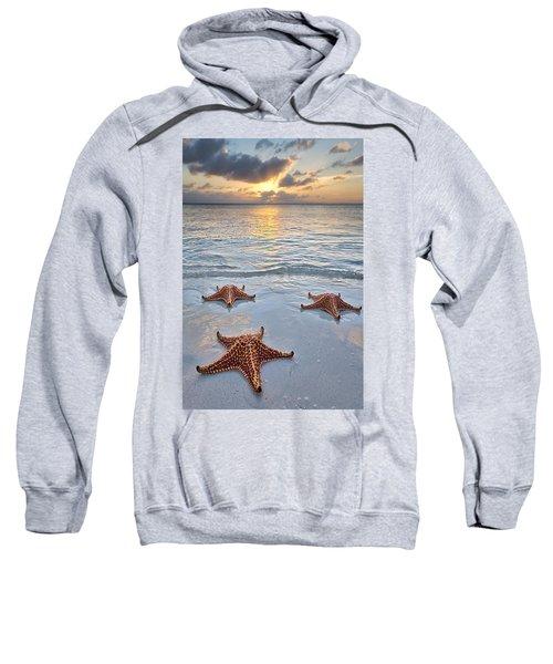 Starfish Beach Sunset Sweatshirt