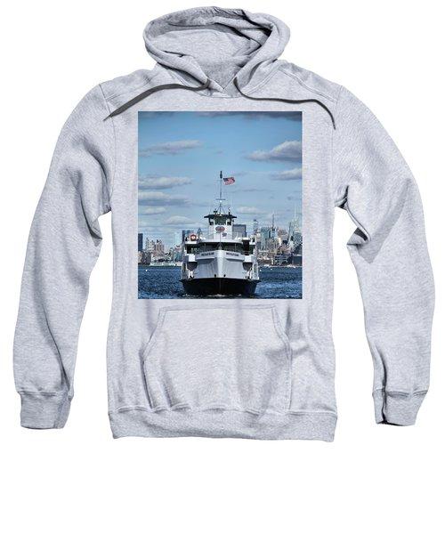Statue Of Liberty Ferry Sweatshirt