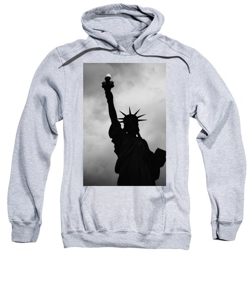 Statue Of Liberty Silhouette Sweatshirt