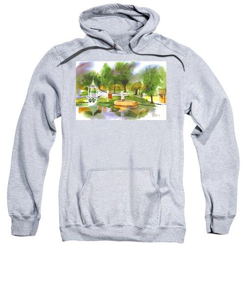 Ste Marie Du Lac In Watercolor II Sweatshirt