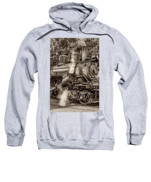 Steam Power Sepia Sweatshirt
