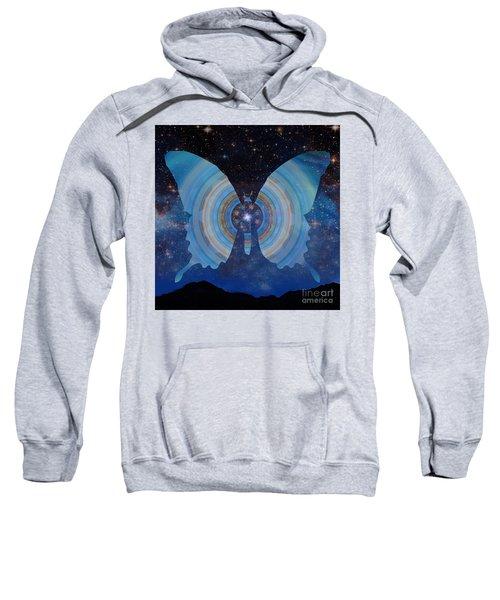 Stellar Butterfly Sweatshirt