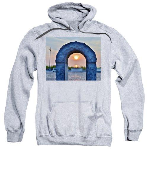 Sunrise Through The Arch - Rehoboth Beach Delaware Sweatshirt