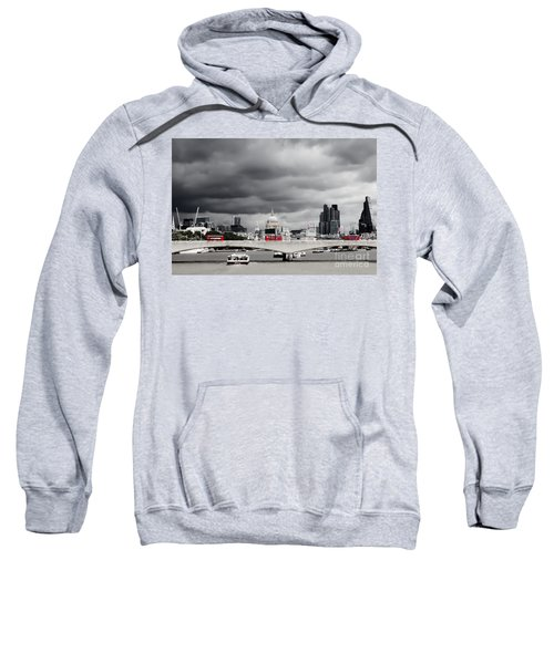 Stormy Skies Over London Sweatshirt
