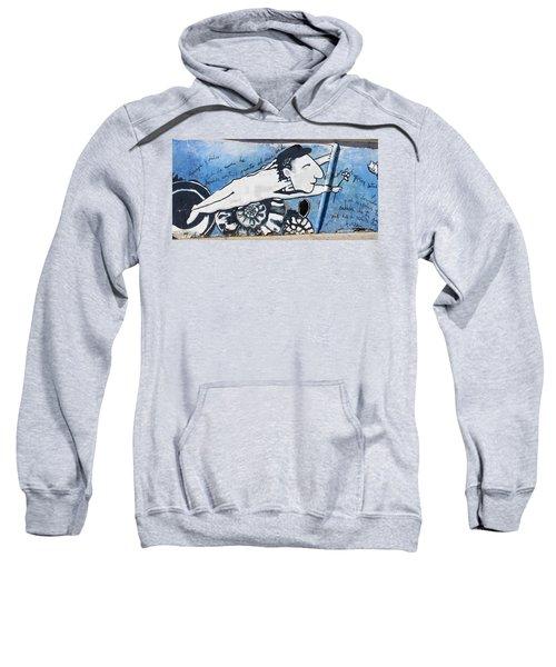 Street Art Santiago Chile Sweatshirt