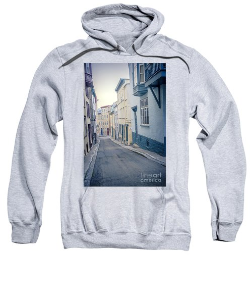 Streets Of Old Quebec City Sweatshirt