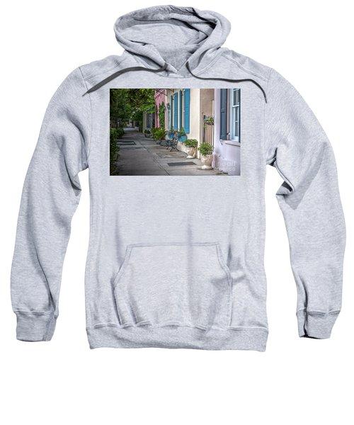 Strolling Down Rainbow Row Sweatshirt